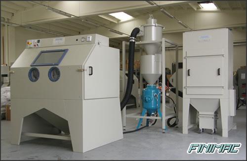 Finimac s r l sabbiatrici cabine manuali ed impianti for Manuale per la pulizia della cabina dell aeromobile